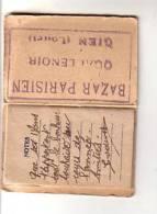 Agenda Calendrier 1948 Petit Format - Tampon Publicité  BAZAR PARISIEN QUAI LENOIR GIEN (Loiret ) - Vue Torrent Montagne - Vecchi Documenti