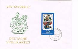 Carta SCHWARZENBERG (Alemania) 1967, Juegos, Naipes, Cartas - Juegos