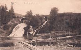 BELGIQUE - CPA - Coo. Coq ? - Cascade Et Pont De Bois. Animée. Ed. Nels, Serie-Coo N° 12. écrite 1919 - De Haan