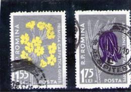 1957 -  ERREUR  Mi No 1653I Et 1654II  Le Graveur D'origine M (120 EURO/MICHEL ) - Variedades Y Curiosidades