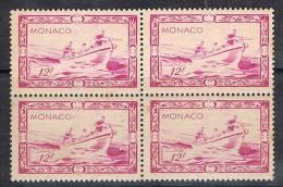 MONACO N°330 N**  En Bloc De 4