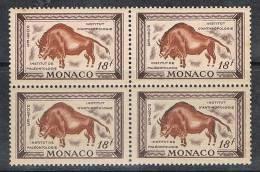 MONACO N°331 N**  En Bloc De 4
