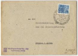 """Wagner, Brief Aus Dessau 11.5.1959 """"Wagner Festwochen"""" - Music"""