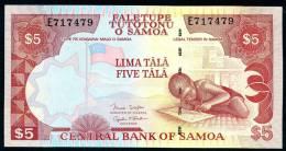 SAMOA  : 10 Tala - P34 - UNC - Samoa