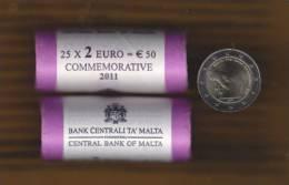 @Y@   Malta 2 Euro 2011  Commemorative - Malta