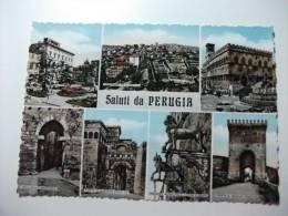 Saluti Da Perugia Umbria - Saluti Da.../ Gruss Aus...