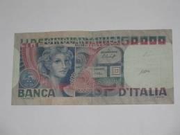 50000 - Cinquantamila LIRE - ITALIE  - 1977-1982 - Banca D'Italia. - [ 2] 1946-… : République