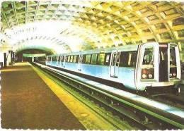 CPM - WASHINGTON - SPACIOUS METRO STATIONS …. - Edition L.B.Prince Co - Washington DC