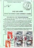 SABINE DE GANDON-BEL AFFRANCHISSEMENT A 31F70 AVEC 2 X PA48 + N°2102 +N°1968-BRASSAC PUY DE DOME 11-9-1980. - Marcophilie (Lettres)