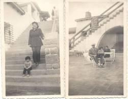 HOTEL POTRERILLOS MENDOZA ARGENTINA 2 FOTOS 10 DE MARZO DE 1949 - Lieux