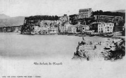 """Bellissima Cartolina D´epoca       """" Un Saluto Da Napoli   - Sorrento  Marina Grande   """" - Napoli"""