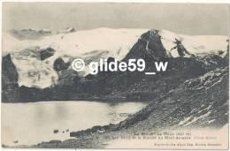 La Grave - La Meije - Le Lac Lerié Et Le Glacier Du Mont-de-Lans - France