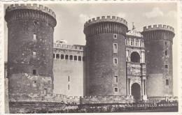 Italy Napoli Castello Angioino Real Photo