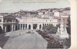 Italy Genova Piazza Acquaverde e nuova Stazione Principe