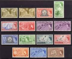 Bermuda - 1953/57 - Definitives (Part Set) - MH - Bermudes
