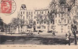 CAIRO - Mida Soliman Pasha  (animée) EGYPTE (animée Chariot Chevaux Automobiles) - Unclassified
