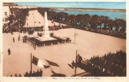 Bizerte. Place Du Monument Aux Morts Et La Plage - Tunisia