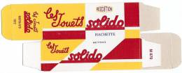 SOLIDO - BOITE VIDE  - MATRA 670 - 1972. - Autres Collections