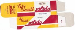 SOLIDO - BOITE VIDE  - MATRA RANCHO - 1977. - Autres Collections