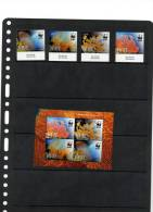 NIUE,2012, WWF, GIANT SEA FAN, 4v+SHEETLET,MNH - W.W.F.