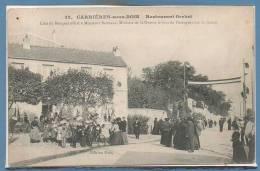 78 - CARRIERES Sous BOIS --  Restaurant GERBERT  - Lieu Du Banquet.... - Autres Communes