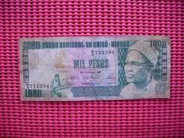Billet  Guine Bissau  1000 Pesos  1978 - Guinea-Bissau