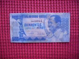 Billet  Guine Bissau  500 Pesos  1990 - Guinea-Bissau