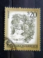 Austria - 1977 - Mi.nr.1565 - Used - Beautiful Austria - Myrafälle At Muggendorf, Lower Austria - Definitives - 1945-.... 2ème République