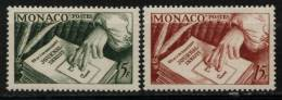 N° 392 Et N° 393 - X X - ( E 1136 ) - Monaco