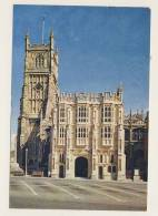 Cirencester Church, The South Porch And Tower - Postage Due - England