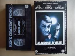 GARDE A VUE VHS CASSETTE - VENTURA/ SERRAULT/ SCHNEIDER - Action, Aventure