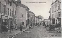 CPA, Rosières Aux Salines, Rue Gambetta - France