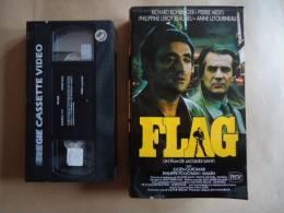 FLAG VHS CASSETTE FILM AVEC R. BOHRINGER - P. ARDITI - Actie, Avontuur