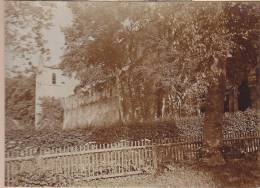 Rottenbach, OT Paulinzella, Saalfeld-Rudolstadt Thüringen, Romanische Klosterruine, Nordseite, FOTO 1920, Original - Orte