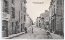 CPA, Rosières Aux Salines, RUe Léon Bocheron - France
