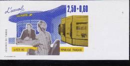 1992 - YVERT N° 2743 NON DENTELE ** - COTE = 18.5 EUROS - JOURNEE DU TIMBRE - Frankrijk