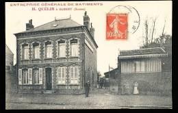 80 ALBERT / Entreprise Générale De Bâtiments, H. Quélin / - Albert