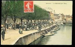 80 AMIENS / Le Marché Sur L'eau/ - Amiens