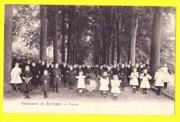 * Beirlegem - Beerlegem (Zingem - Gavere) * Pensionnat De Beirlegem, école, School, TOP CPA, Avenue, Enfants, Classe - Zingem