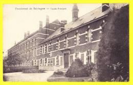 * Beirlegem - Beerlegem (Zingem - Gavere) * Pensionnat De Beirlegem, école, School, TOP CPA, Façade Principale, Old - Zingem