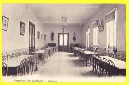 * Beirlegem - Beerlegem (Zingem - Gavere) * Pensionnat De Beirlegem, école, School, TOP CPA, Réfectoire, Eetzaal - Zingem