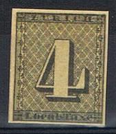 4 Rp  Canton De Zurich Neuf - 1843-1852 Kantonalmarken Und Bundesmarken