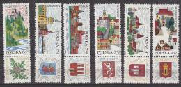 PGL AJ785 - POLOGNE Yv N°1766/73 ** ART TABLEAUX ( -1766 ET 1768 ) - 1944-.... República