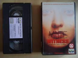 TEMOIN MUET ( MUTE WITNESS )  VHS CASSETTE - Politie & Thriller
