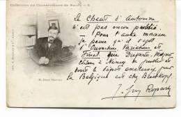 """Ancienne Cp """"  Collection Du Conservatoir De Nancy, M. Henri Marteau """" Avec Valeur Et Cachet 1906 - Other Famous People"""