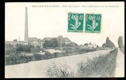 21 BRAZEY EN PLAINE / Port Du Canal, Vue Extérieure De La Sucrerie / - Autres Communes