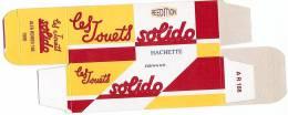SOLIDO - BOITE VIDE  - ALFA ROMEO 166 - 1999. - Autres Collections