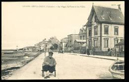 14 GRANDCAMP LES BAINS / La Plage, Le Perré Et Les Villas / - Other Municipalities