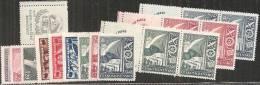 Cecoslovacchia 1946 Nuovo** - N°12v In Serie Complete  Vedi Descrizione - Cecoslovacchia