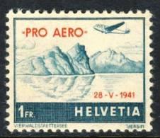 1941 Switzerland MNH Airmail Stamp - Airmail